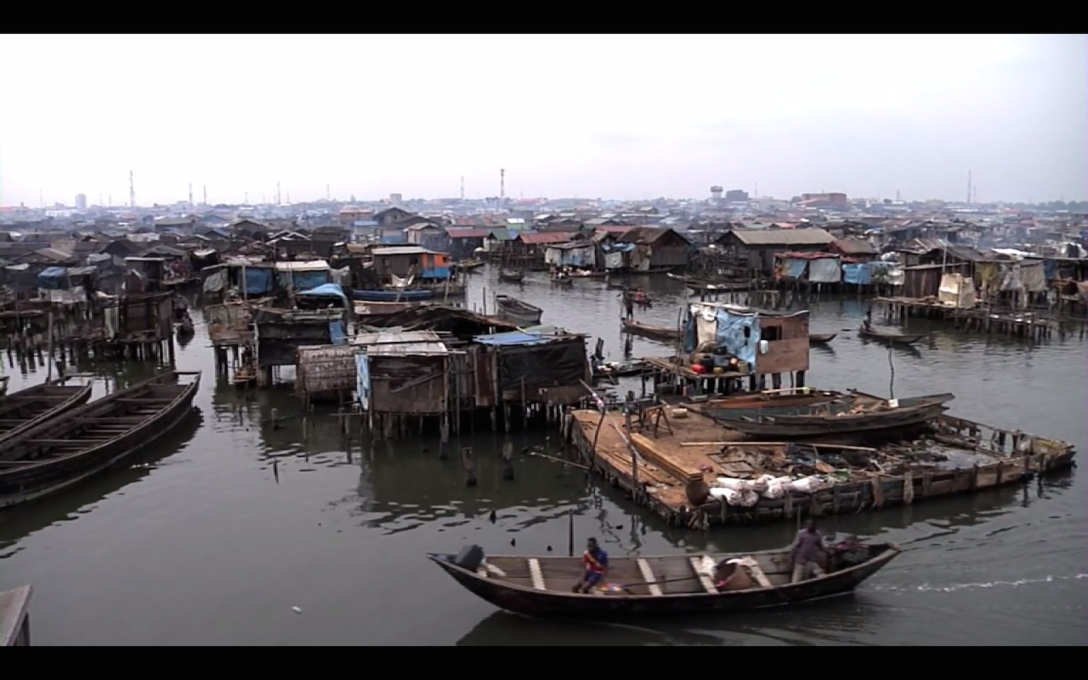 On the outskirts of Nigeria's most populous city of Lagos, 85'000 people live in the waterside slum of Makoko.