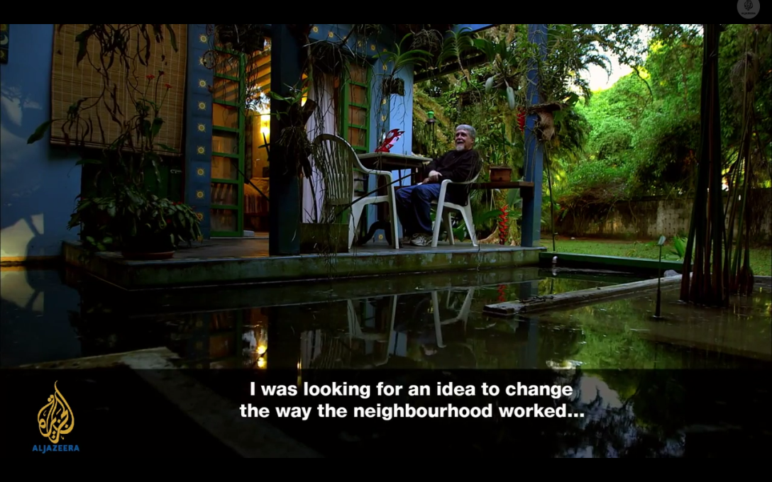 The documentary also traces the counterpart story of master planner Luis Carlos Toledo.
