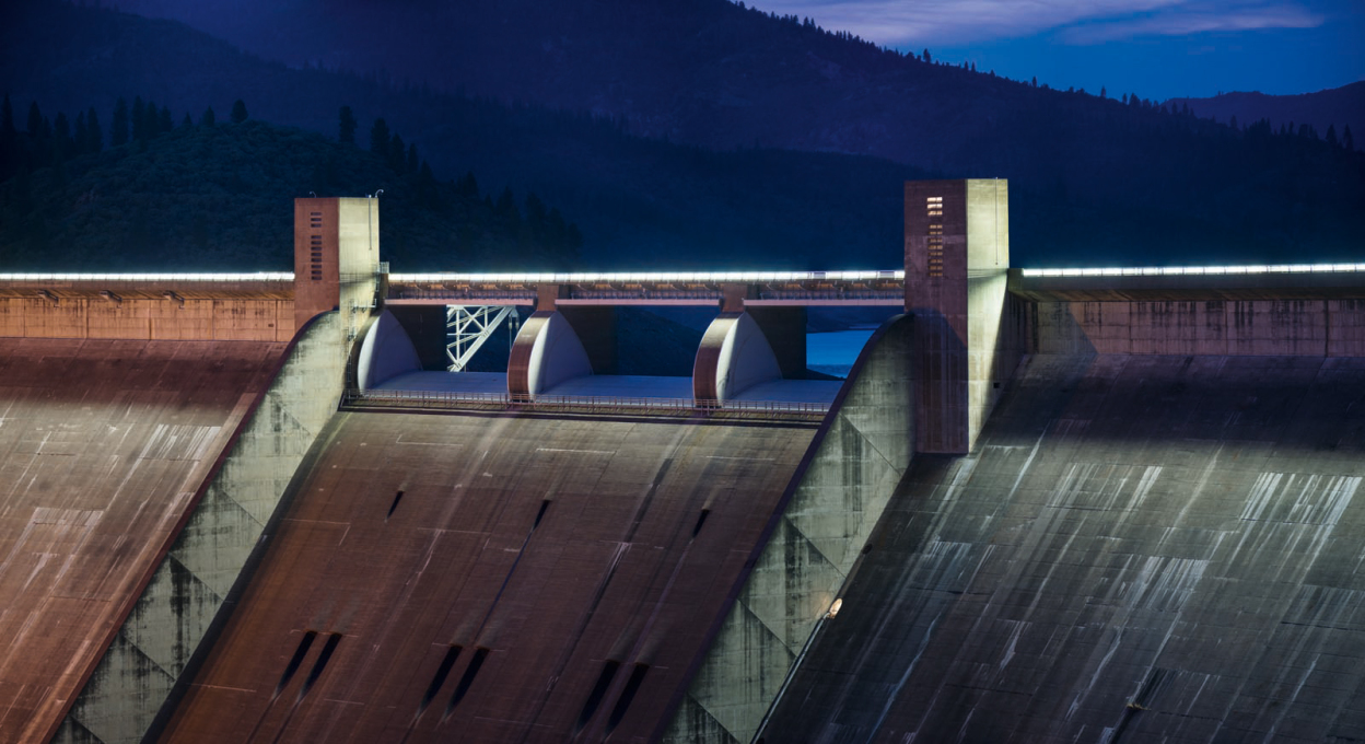 Shasta Dam, California 2014.