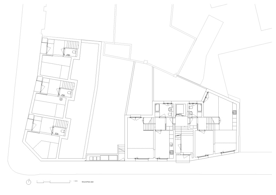 Ground floor plan. (Courtesy Jaccaud Zein Architects)