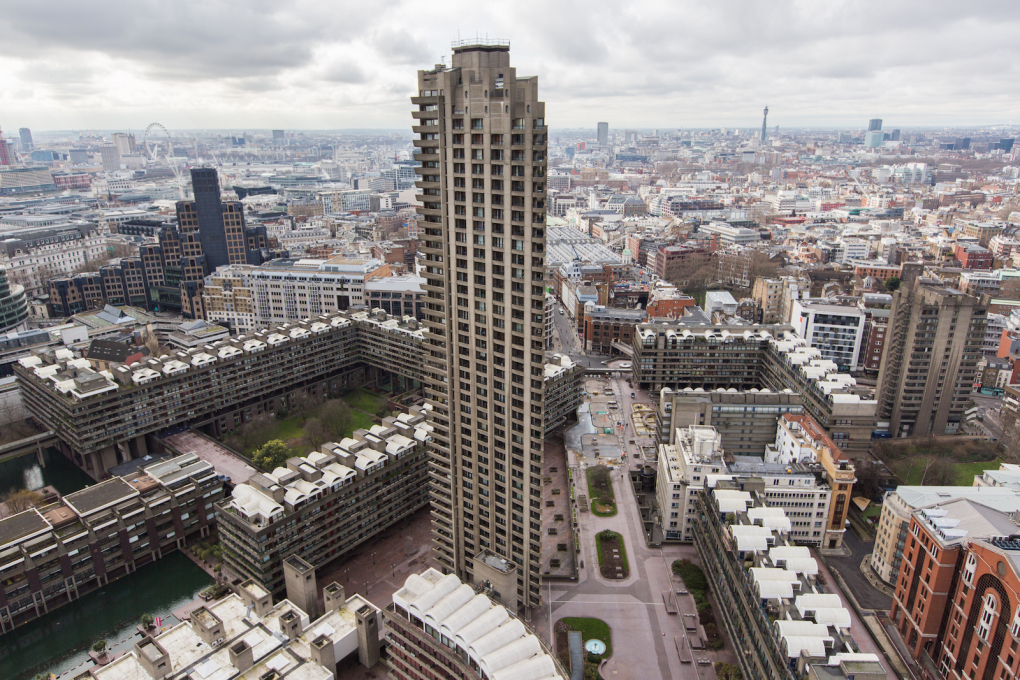 """Skydweller"", directed by Paul Haworth, UK, 2014 is a portrait of London as seen from the iconic brutalism of the Barbican Estate."