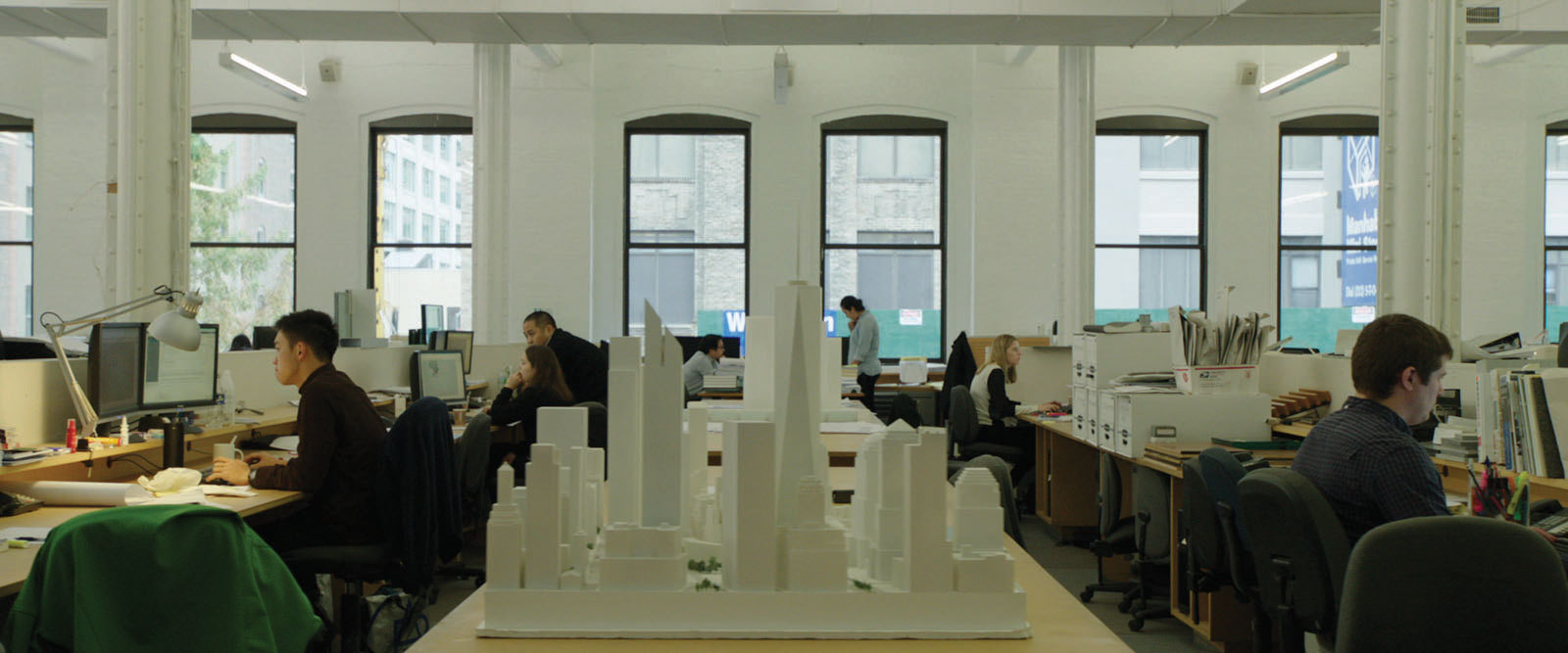 A journey through the architectural offices of New York looking at the production of architecture...