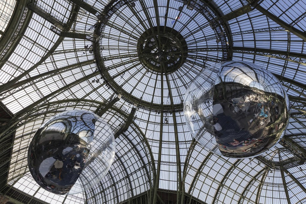 "Tomás Saraceno's ""Aerocene"" prototype at the Grand Palais in Paris. (All images © Tomás Saraceno)"