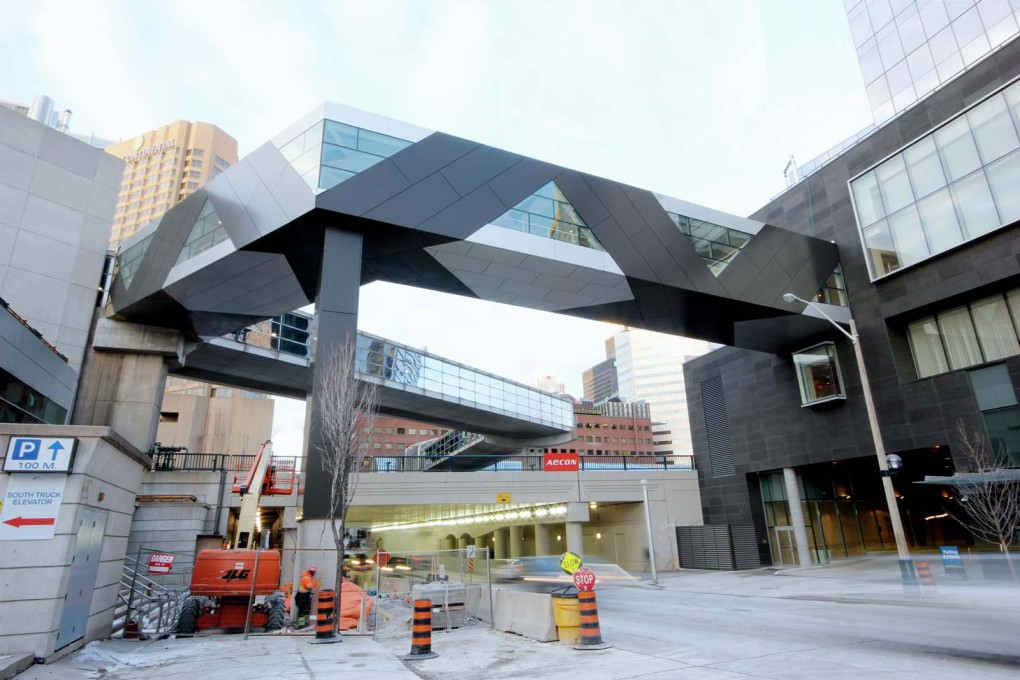 "The new SFC ""Torque"" Bridge in Toronto. (All photos: Andrew Rowat, courtesy FIRM a.d.)"