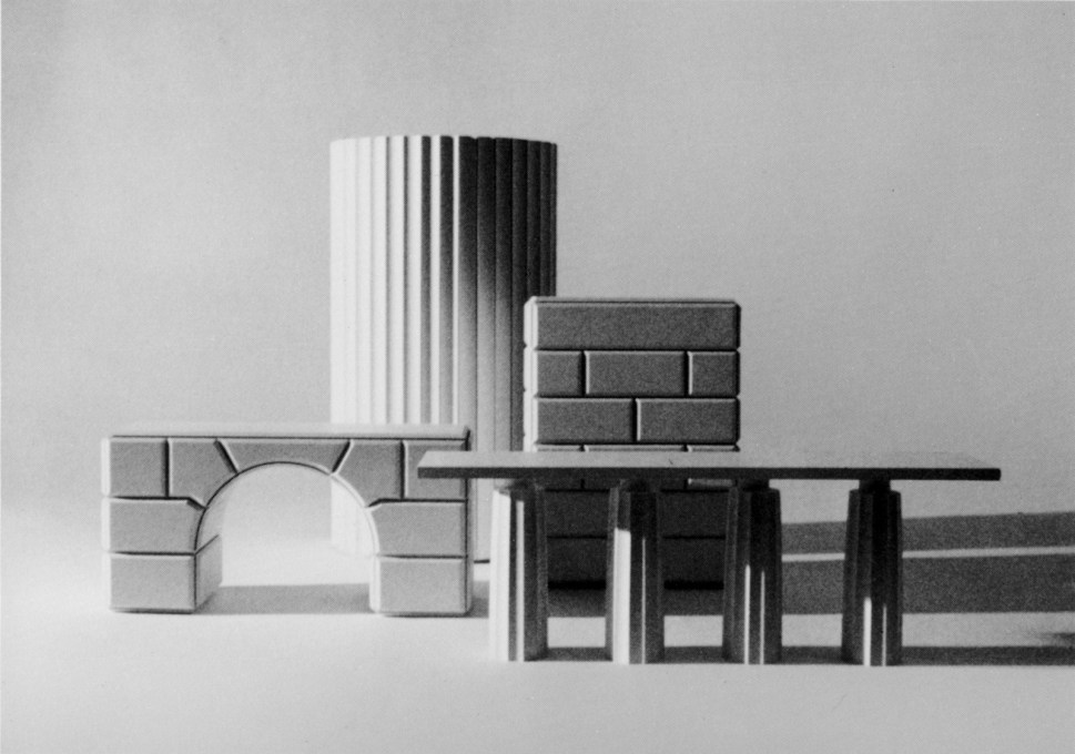 More furniture as architecture from 1977. (Photo courtesy Fri Art and Trix and Robert Haussmann)