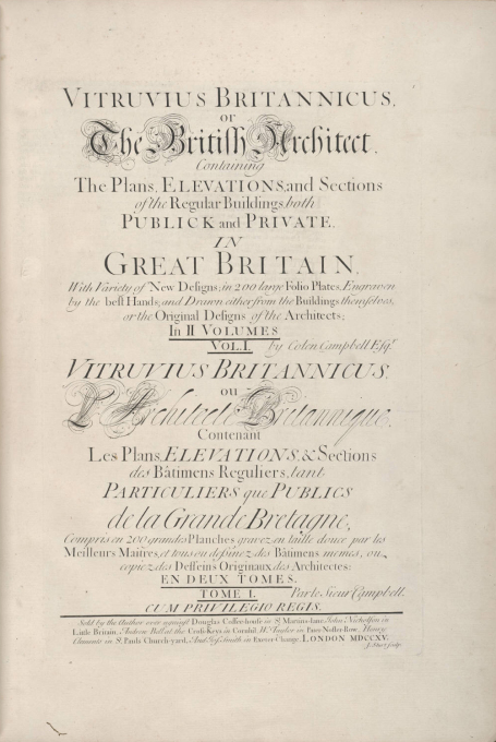 Another historical precursor: the 1715 Vitruvius Britannicus by Colen Campbell, which started a widespread, popular debate. Could this happen today?