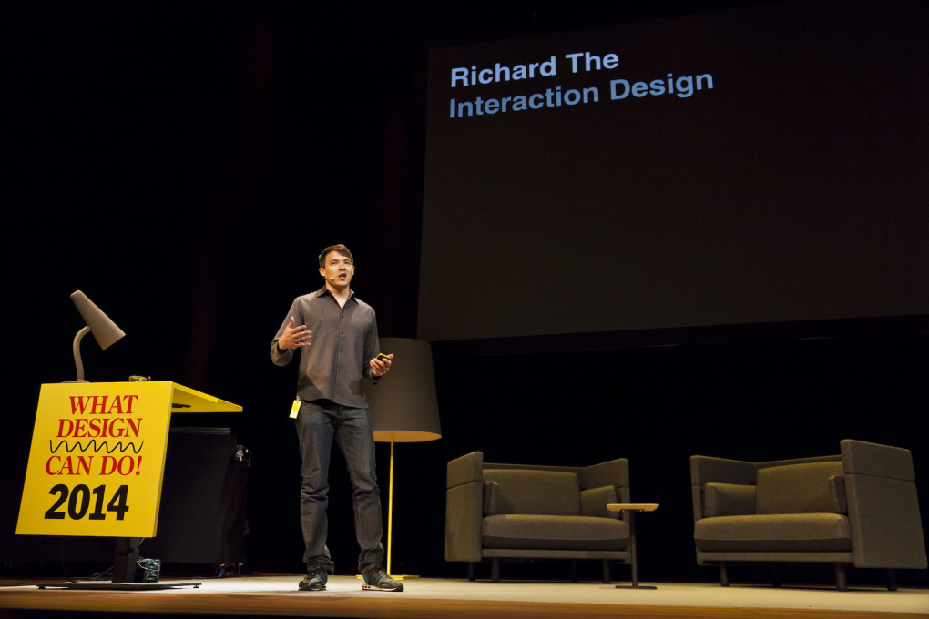 Interaction designer Richard The worked at Sagmeister Inc. and The Green Eyl in Berlin before moving to Google Creative Lab in New York. (Photo © Leo Veger)
