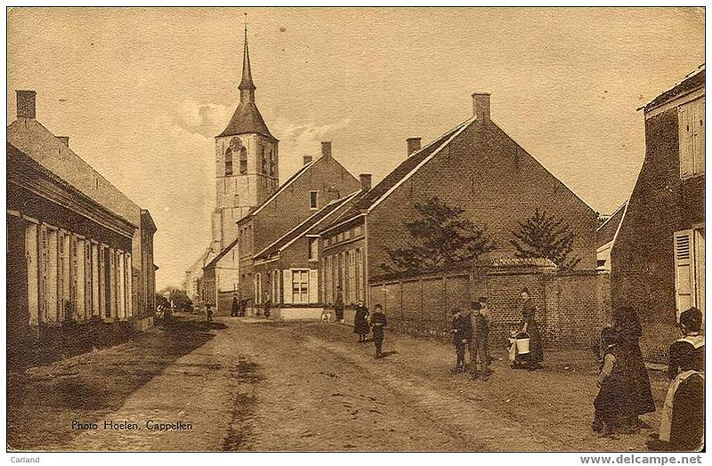Historic (and idyllic) postcard of Wilmarsdonk.