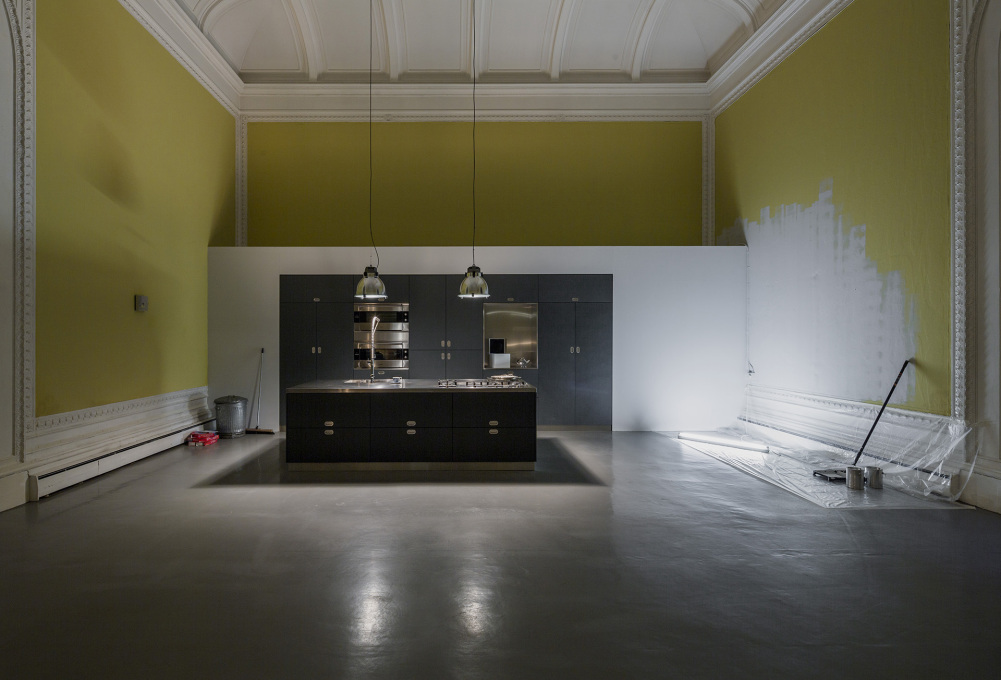 "The ""minimalist"" kitchen is more like a souless showroom: this architect is definitely not married to Ruthie Rogers. © Elmgreen & Dragset, photo: Anders Sune Berg, courtesy the artists and Victoria Mirol"