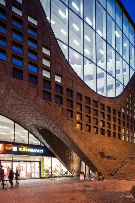 The excellent use of brickwork references building traditions in Helsinki. (Photo: Mika Huisman, Espoo)