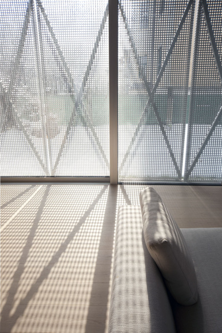 """...while inside it makes for a soft diffusion of the natural light and..."""