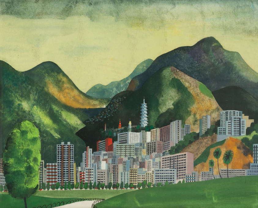 """This is Hong Kong"", 1965. (Photo: Ondrej Pribyl/Šašek Foundation)"