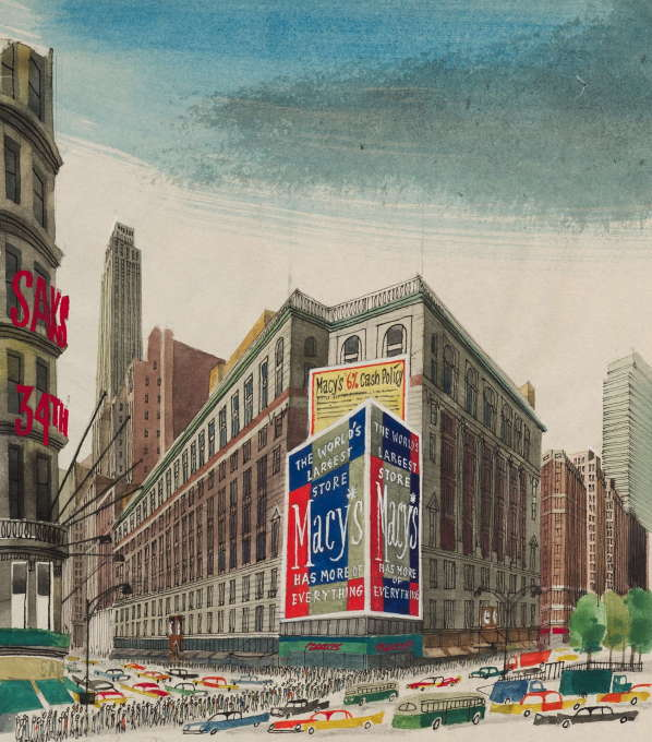 """This is New York"", 1960. (Photo: Ondrej Pribyl/Šašek Foundation)"