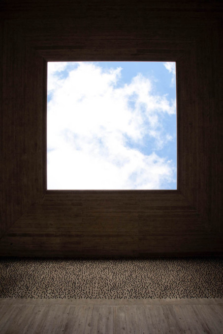 "In each square, there is a ""window to the sky"" in the roof for contemplating eternity."