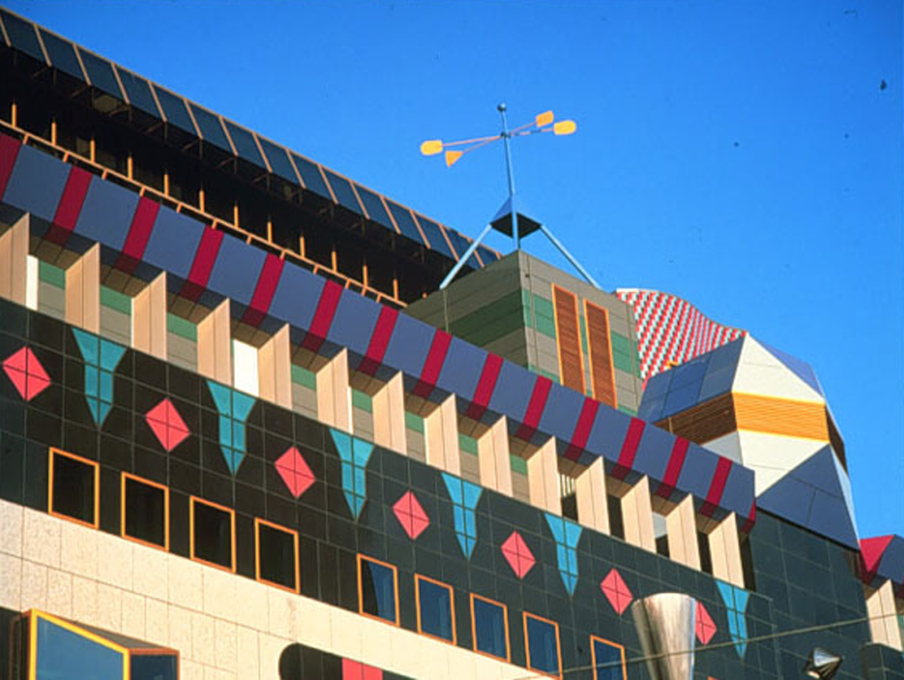 RMIT Building 8' Melbourne (1993), Edmond and Corrigan. (Photo: John Gollings)