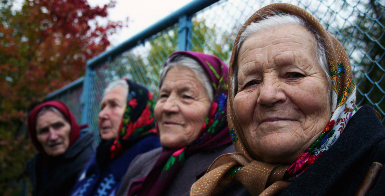 """The Babushkas of Chernobyl"", directed by Holly Morris and Anne Bogart, USA, 2015."