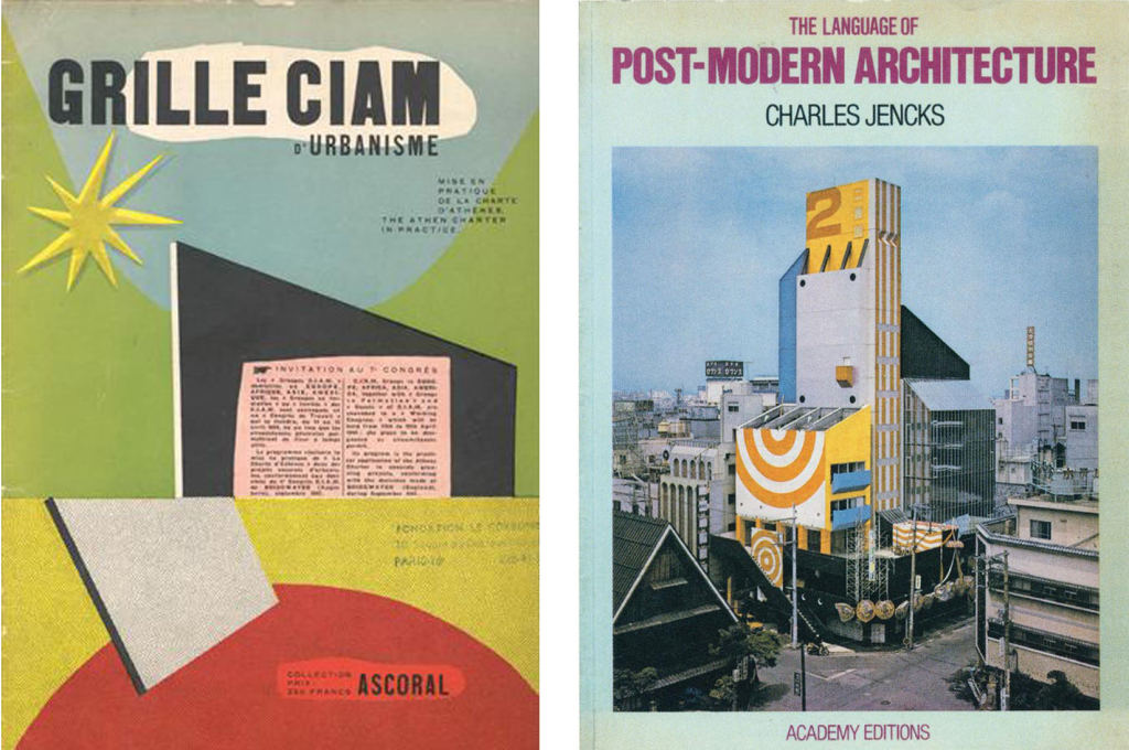 The Athens Charter by CIAM and Le Corbusier (1935) and The Language of Post-Modern Architecture by Charles Jencks (1997): two pre-internet polemics that altered architectural discourse forever.