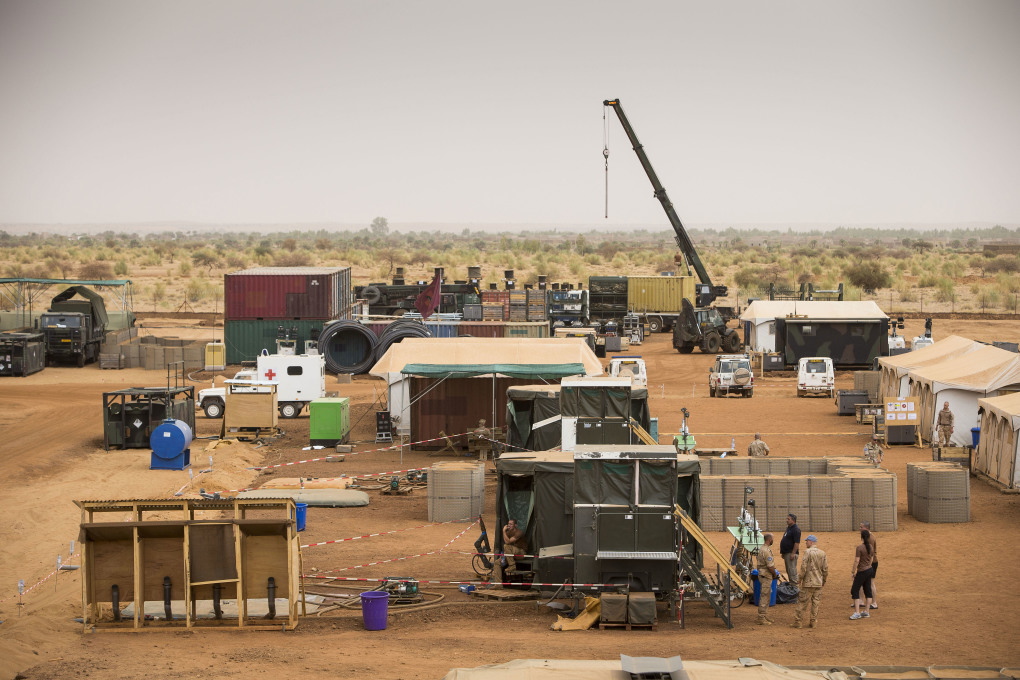 """These UN bases are operating as self-sufficient islands"": Camp Castor in Mali (Image © Dutch Ministry of Defence)"