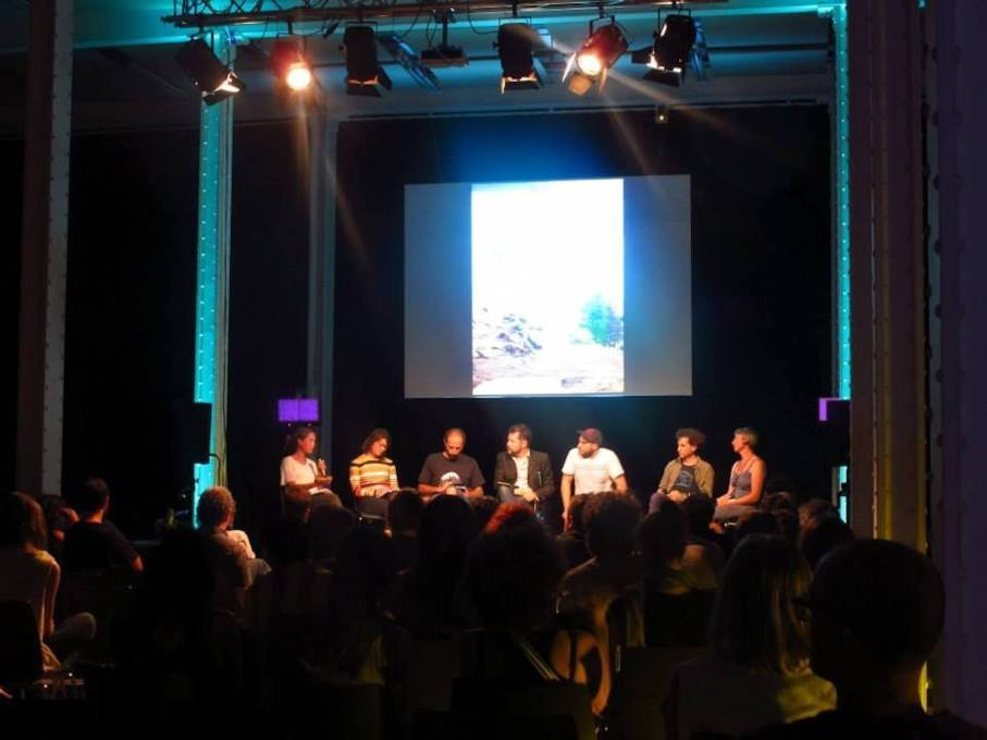 A June 29 debate moderated by Edgar Gonzalez called Participative Architecture: new praxis/new trend? (Photo © Eme3)