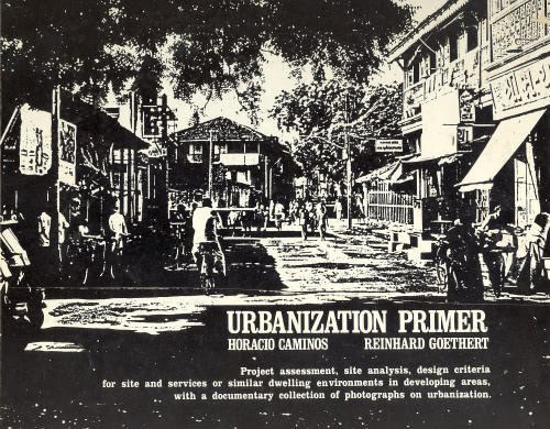 The cover of Reinhard Goethert and Horacio Caminos's classic: 'Urbanization Primer', published by the MIT Press in 1978. (© Reinhard Goethert and Horacio Caminos)