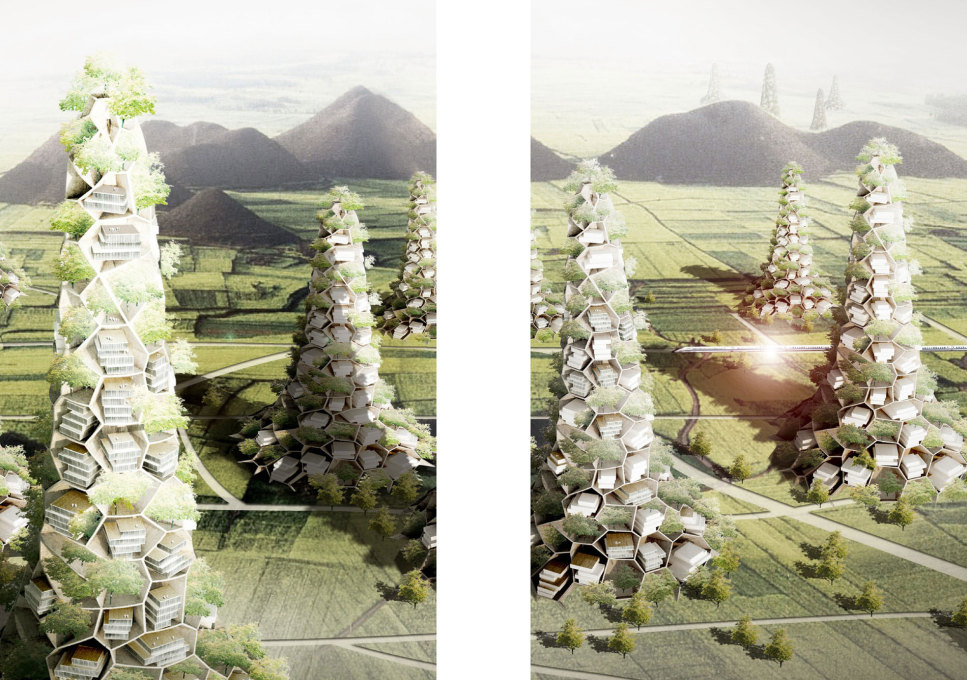 Unlike many other publications on architecture in China, it almost completely abandons shiny images of the latest projects - with the exception of the Village Mountains by Standardarchitecture (Future Scenario China, 2007-ongoing)