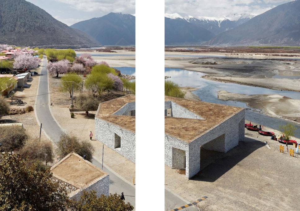 Photo: Niyang River Visitor Center in Linzhi (Tibet) by Standardarchitecture (2009-11)