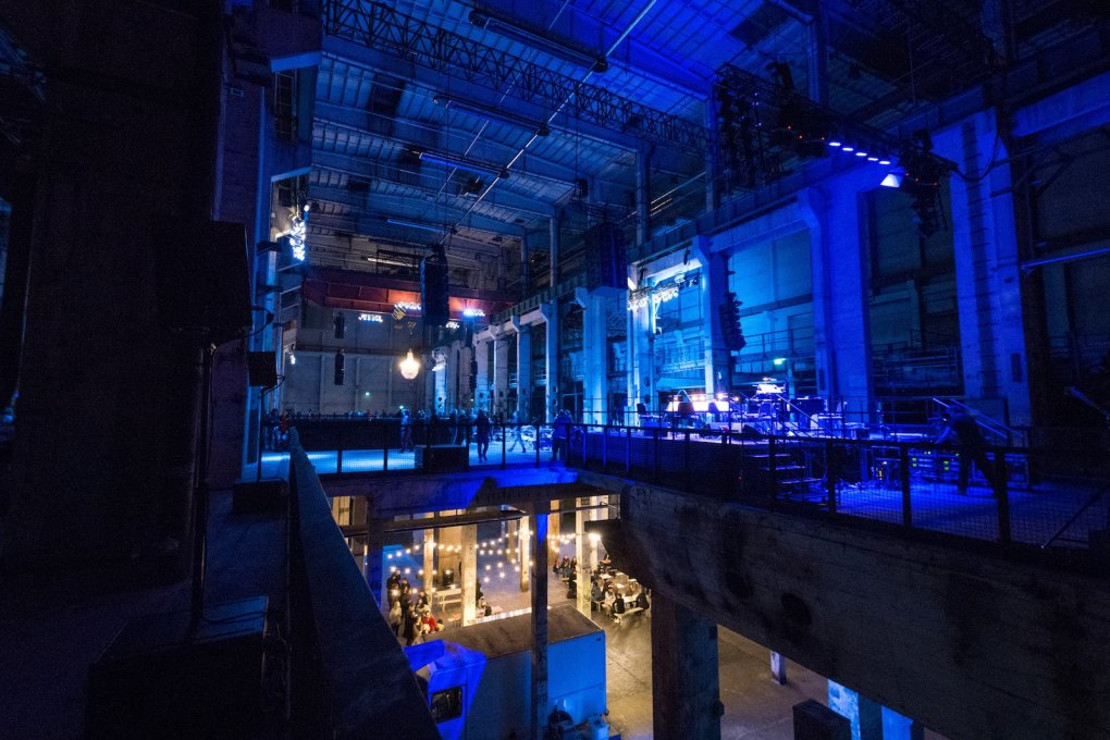 Berliners are used to spending the night listening to music in post-industrial spaces... (Photo: © Camille Blake/Berliner Festspiele)