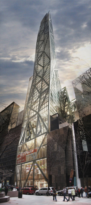 MoMA's been gobbling up new space for years. In 2007, it announced it would occupy 52,000 square feet in Jean Nouvel's new Tower Verre. (Image courtesy Jean Nouvel)