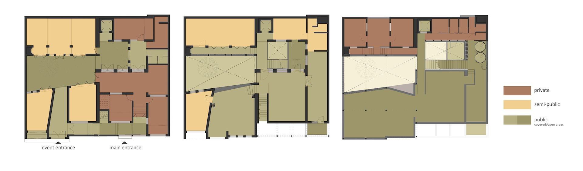 Plans of the new building. (Image: Lotus Design)