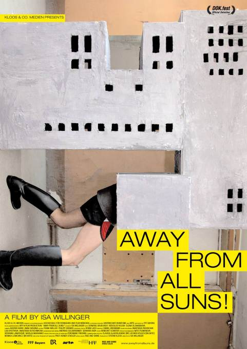 "Film poster for ""Away from All Suns!"" Courtesy Kloos & Co. Medien"
