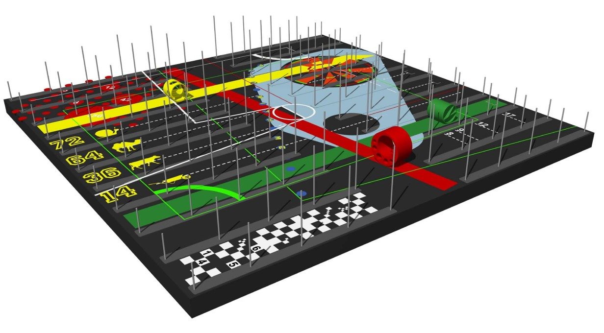Winning design for the Festival Kanal 2014 Court-Circuit. (Image: © Lode Vranken & Jan Laute)
