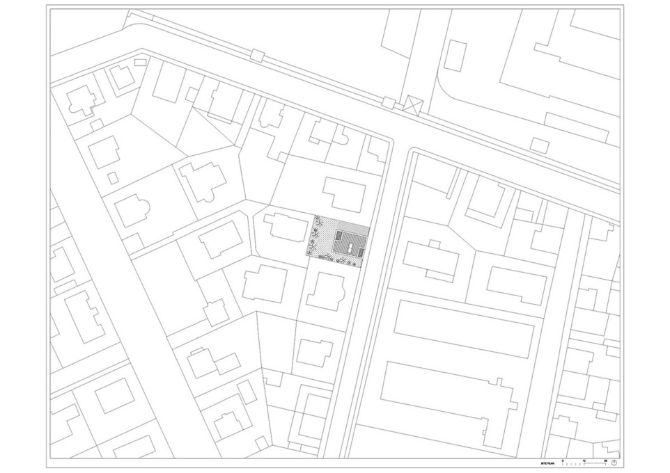 Site plan. (All drawings © OFIS arhitekti)