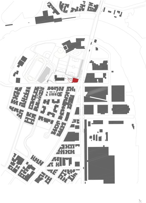 Site plan. (Image courtesy Steven Holl Architects)