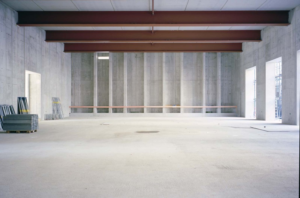A future hall or gallery space.