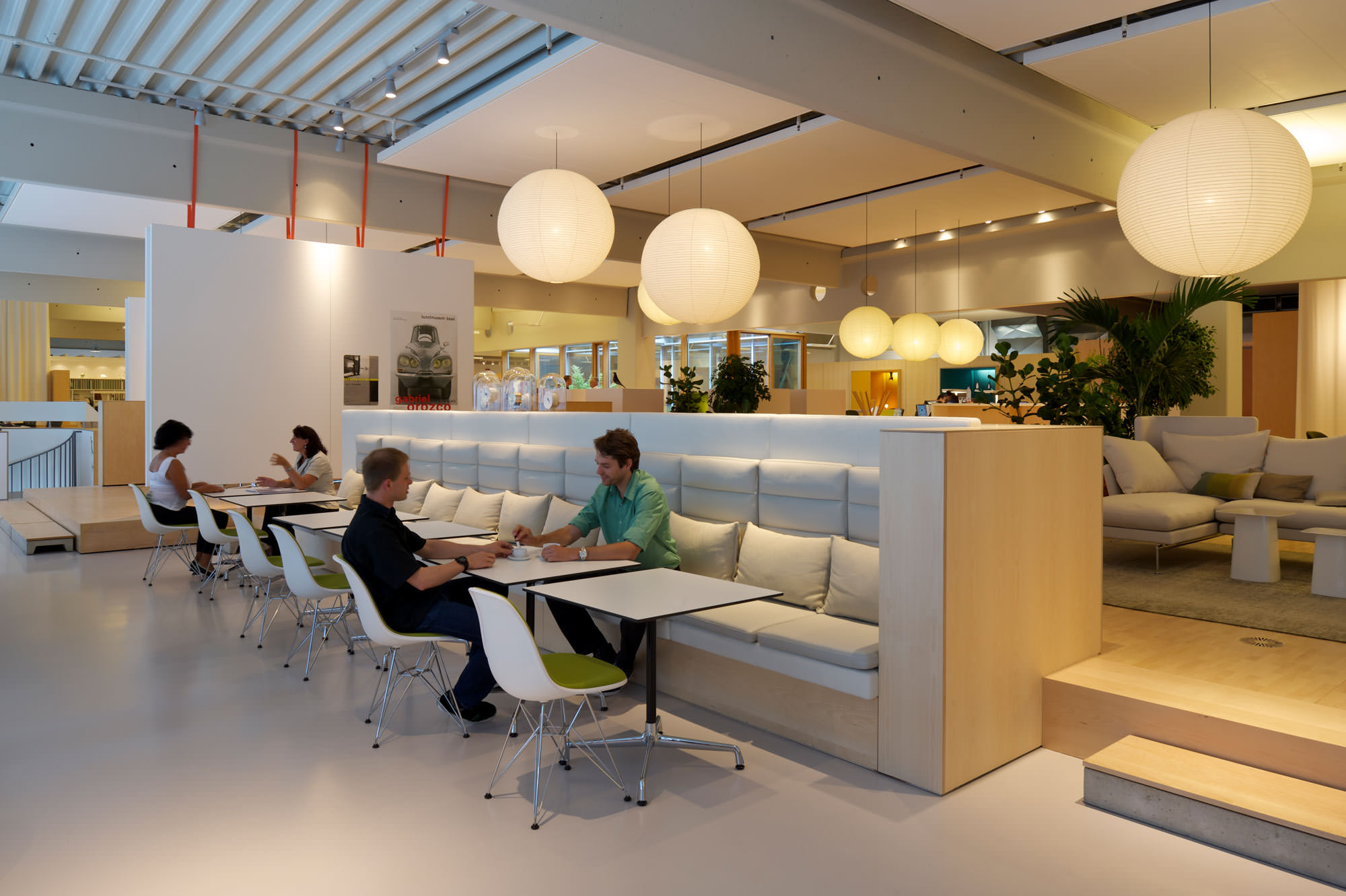 Interview a room for tea for Office design vitra