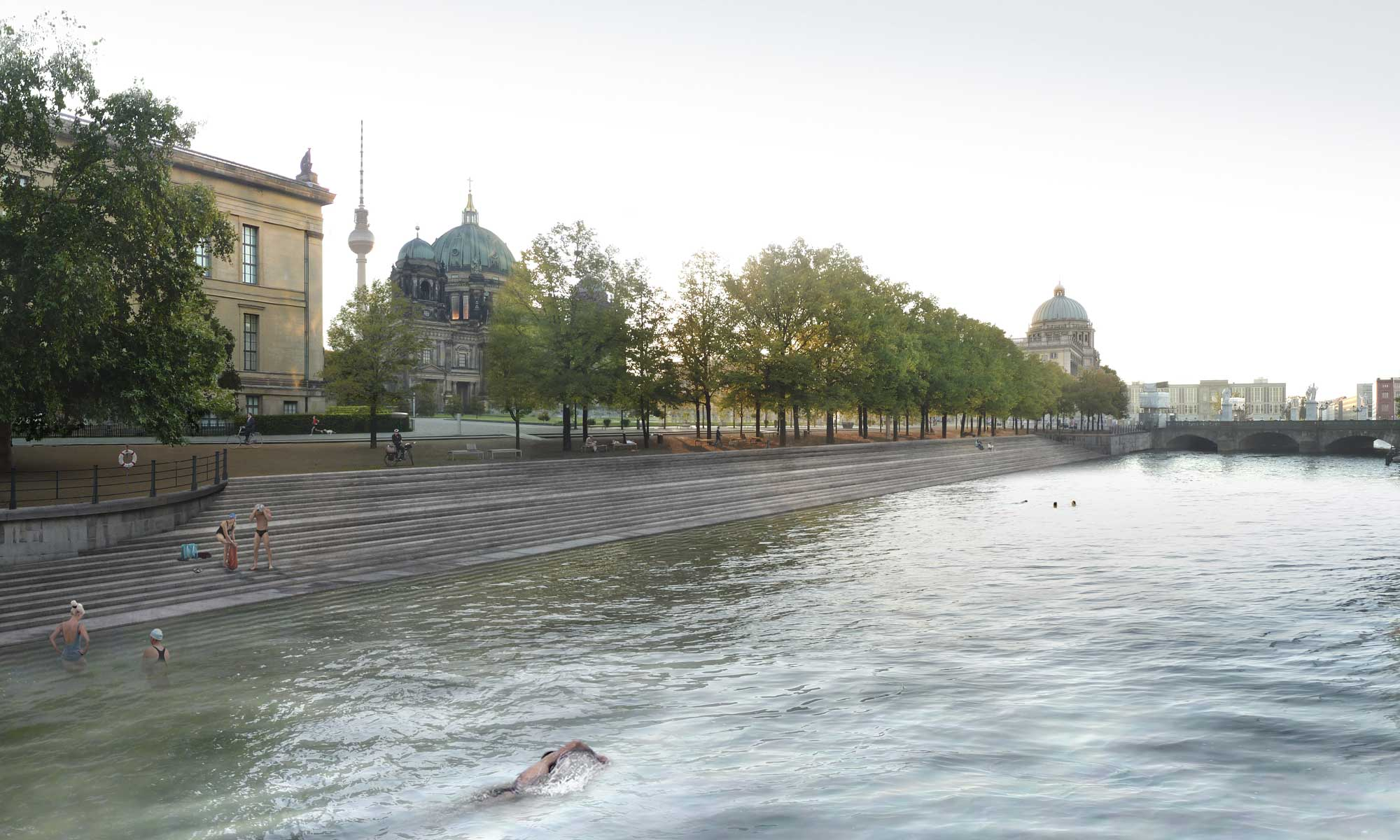River Spree Project by realities:united